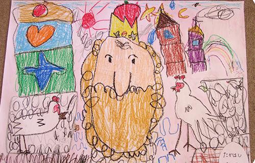 幼稚園祭作品